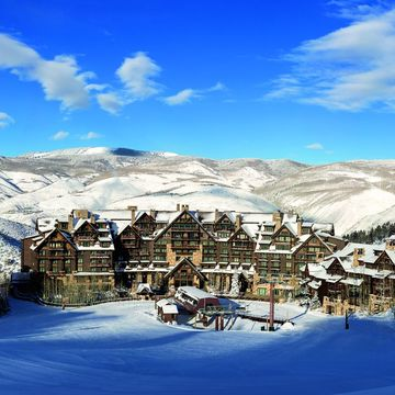 Hotel Ritz Carlton ski hotel in Beaver Creek