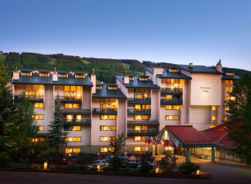 Hotel Evergreen Lodge ski hotel in Vail