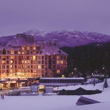 Pan Pacific Whistler Mountainside ski hotel in Whistler
