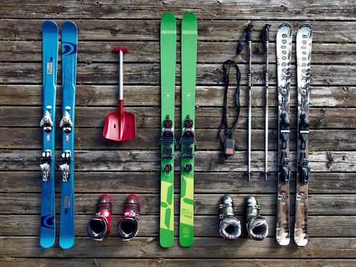 Ski equipment choices
