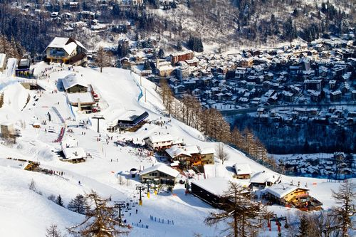 Cheap ski weekends - Courmayeur in Italy