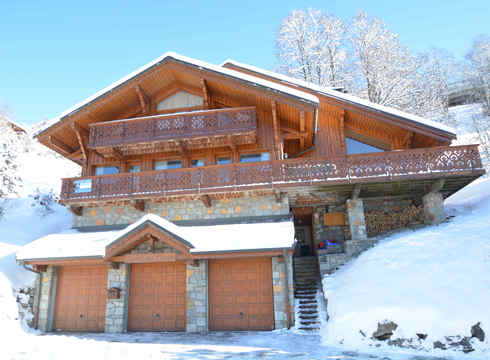 Chalet virage meribel exterior