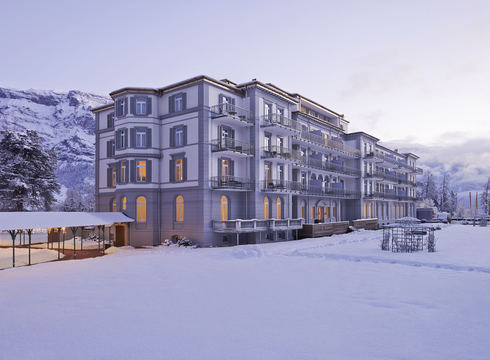 Hotel Waldhaus Resort & Spa ski hotel in Flims