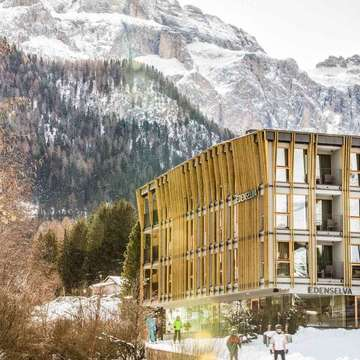 Mountain Design Hotel Eden ski hotel in Selva