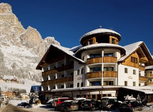 Hotel Tablé ski hotel in Corvara