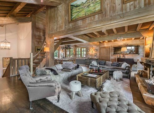 Chalet Partagas ski chalet in Courchevel Village