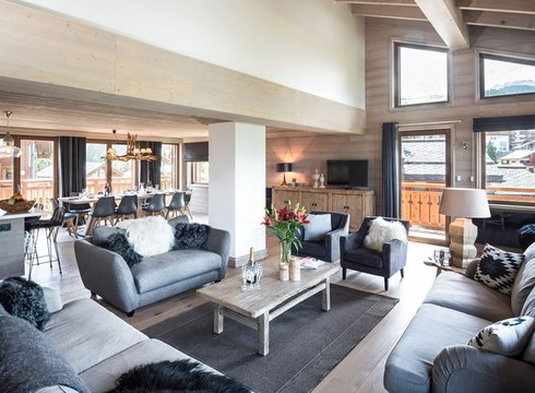 Chalet - The Loft ski chalet in Courchevel Moriond