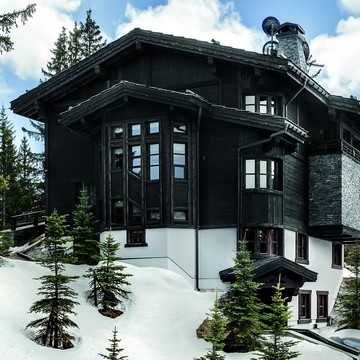 Chalets courchevel 1850 black pearl