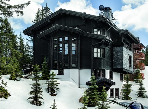 Chalet Black Pearl ski chalet in Courchevel 1850