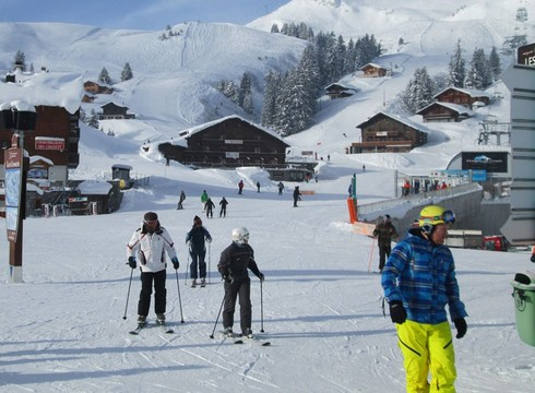 Les crosets resort guide skiing