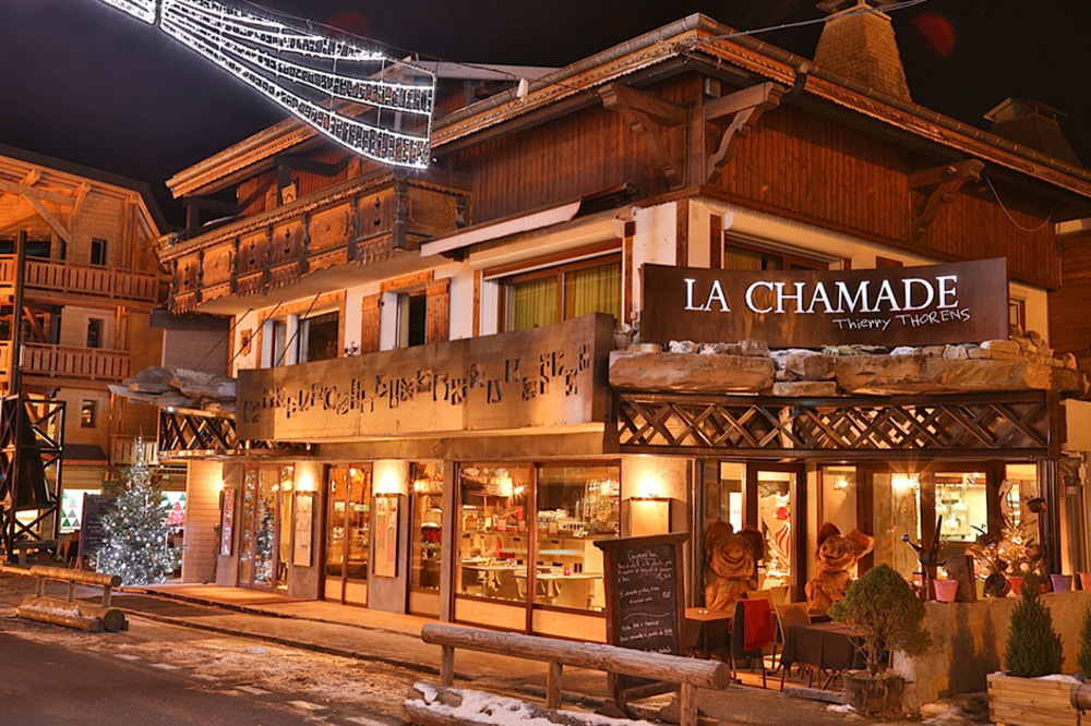 Fine dining in Morzine - the Restaurant Chamade