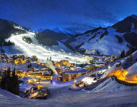 Hinterglemm resort guide - night skiing