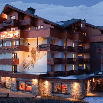 Hotels val thorens sherpa exterior