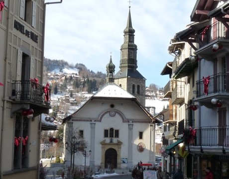 St Gervais Resort Guide - the old centre