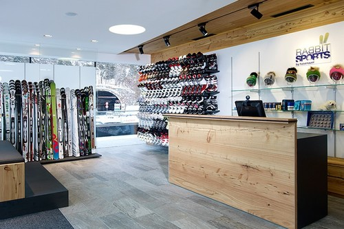 Ski hire Hinterglemm - one of the Rabbit Sport stores