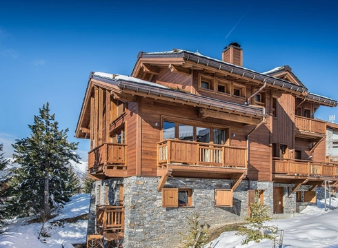 Chalet Overview ski chalet in Courchevel Moriond