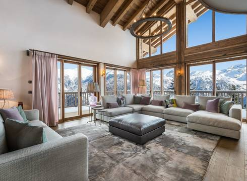 Chalet Libellule ski chalet in Courchevel Moriond