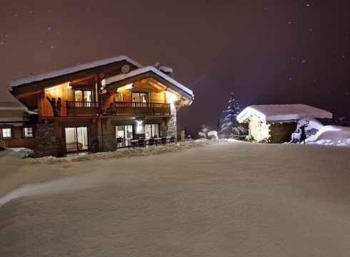 Chalet Elista ski chalet in Courchevel Village