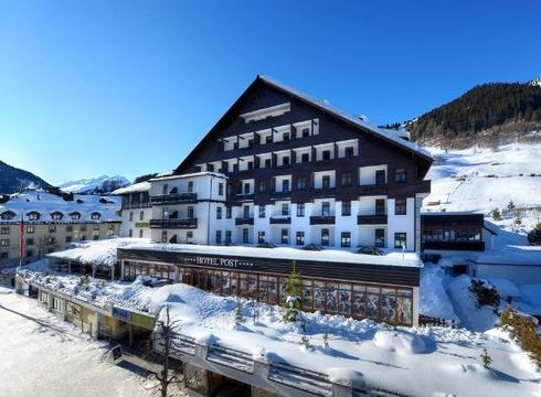 Hotel Post ski hotel in St Anton