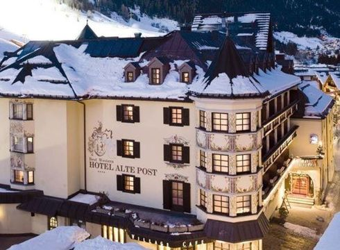 Hotel Alte Post ski hotel in St Anton