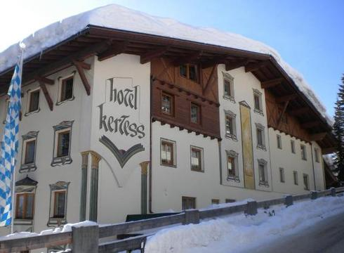 Hotel Kertess ski hotel in St Anton