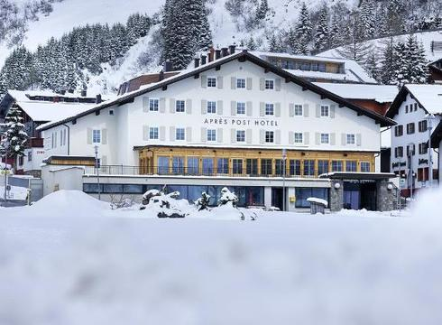 Apres Post Hotel ski hotel in Stuben