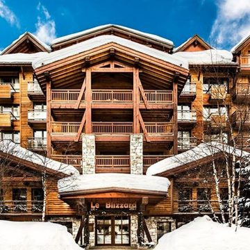 Hotel blizzard val d%27isere exterior