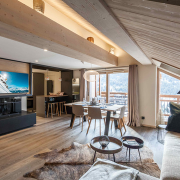 Apartment Crystal Lodge ski chalet in Meribel
