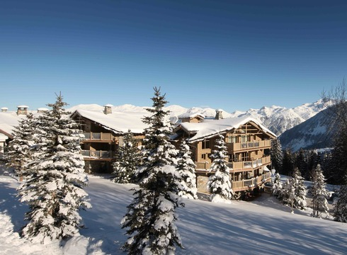 Le K2 Altitude ski hotel in Courchevel 1850