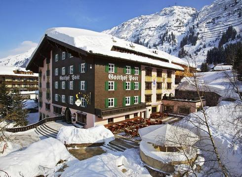 Gasthof Post ski hotel in Lech