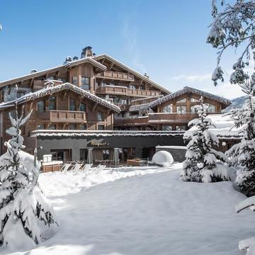 Hotel Barrieres Les Neiges ski hotel in Courchevel 1850
