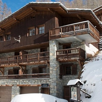 Chalet Belvedere ski chalet in Tignes (Les Brevieres)