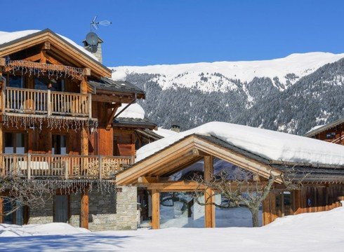 Chalet Loup Blanc ski chalet in Courchevel Le Praz