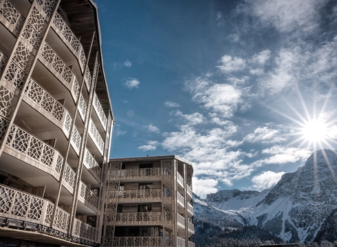 Valsana Hotel & Apartments ski hotel in Arosa