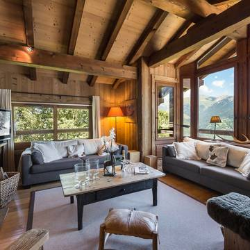 Chalets courchevel village chalet face nord