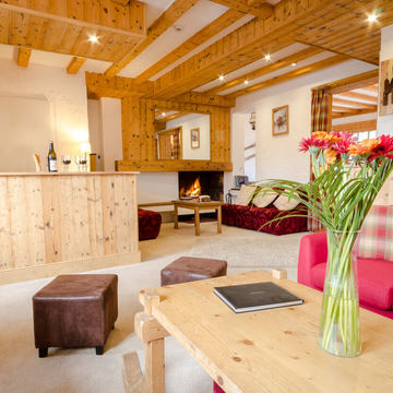 Chalet hotels megeve the rond point
