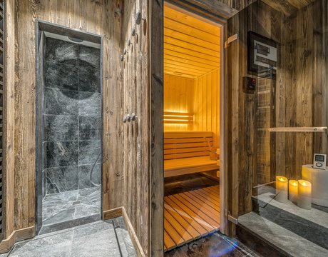 Chalets in Val d'Isere with sauna