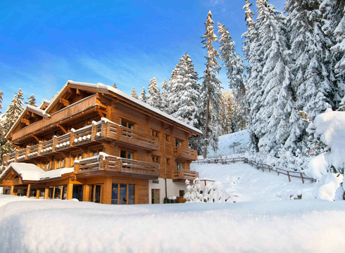 Chalet - The Lodge ski chalet in Verbier