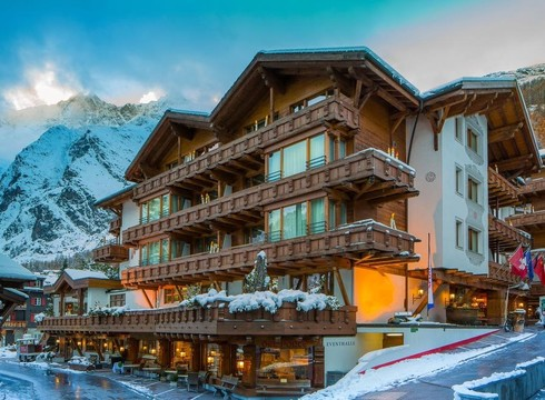 Walliserhof Grand-Hotel & Spa ski hotel in Saas Fee