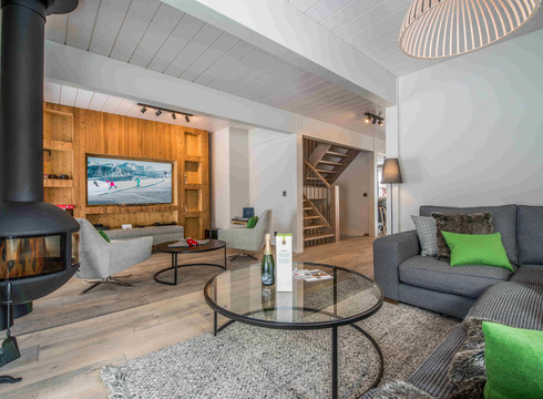 Chalet Mazot Du Village ski chalet in Courchevel Village