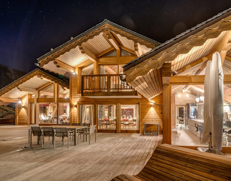 Chalets in Meribel - the fabulous Mont Tremblant