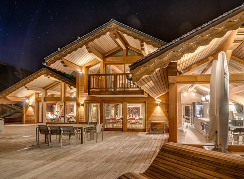 Chalets in meribel chalet mont tremblant