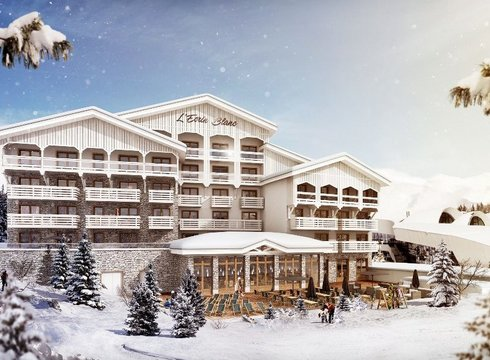 Hotel Ecrin Blanc ski hotel in Courchevel Village