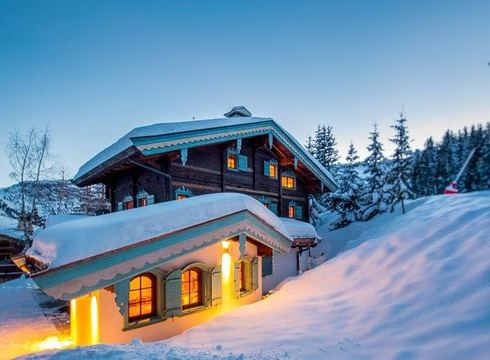 Chalet Shatoosh ski chalet in Courchevel 1850