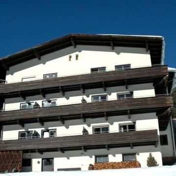 Catered chalet st anton zoller exterior