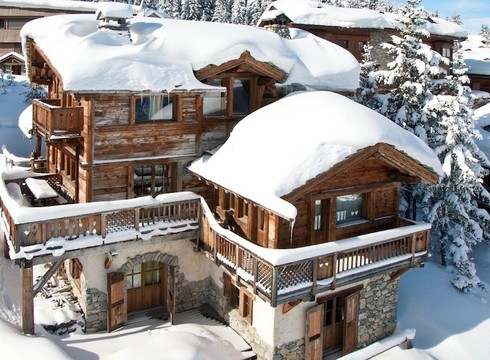 Chalet Montana ski chalet in Courchevel 1850