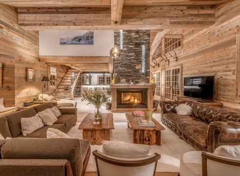 Chalet Namaste ski chalet in Courchevel 1850