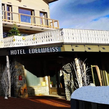 Hotel edelweiss courchevel moriond exterior