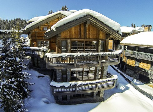 Chalet Monet ski chalet in Courchevel 1850