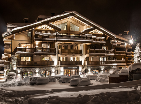 Manali Lodge - Kinabalu ski chalet in Courchevel Moriond